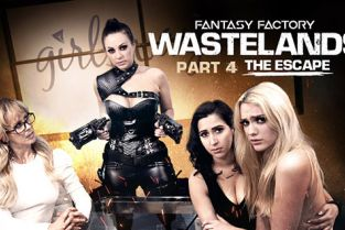 GirlsWay - April O'Neil, Abigail Mac, Cherie DeVille, Kenna James Wastelands Episode 4