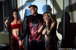 Bonnie Rotten, Kira Noir He Came At Night Part 2 BrazzersExxtra