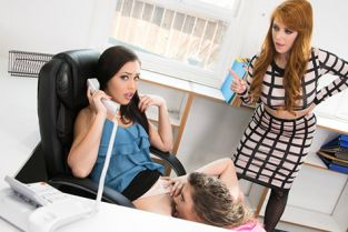 GirlsWay - Penny Pax, Elena Koshka, Alina Lopez Bait And Switch