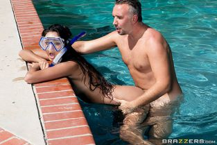 Eliza Ibarra Diving For A Good Dicking BabyGotBoobs