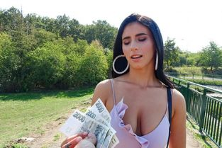 PublicAgent - Nelly Kent Hot Romanian beauty fucked for cash