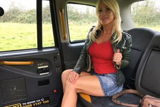 FakeTaxi - Tiffany Rousso Rough fuck for sexy Hungarian MILF