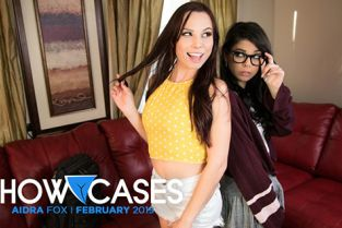 GirlsWay - Aidra Fox, Gina Valentina Showcase Aidra Fox