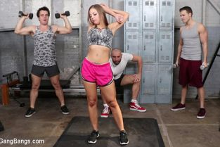 BoundGangBangs - Britney Amber Britney Amber is Gettin' Pumped