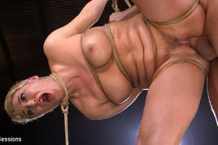 BrutalSessions - Ryan Keely Big Titted Goddess Ryan Keely Fucked, Disciplined in Rope Bondage