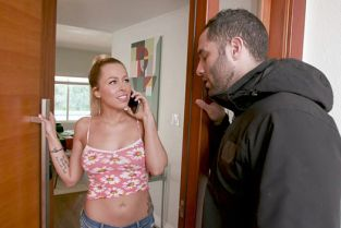 BangTrickery - Zoey Monroe Gets Her Pussy Worked Out By A Fake Electrician!